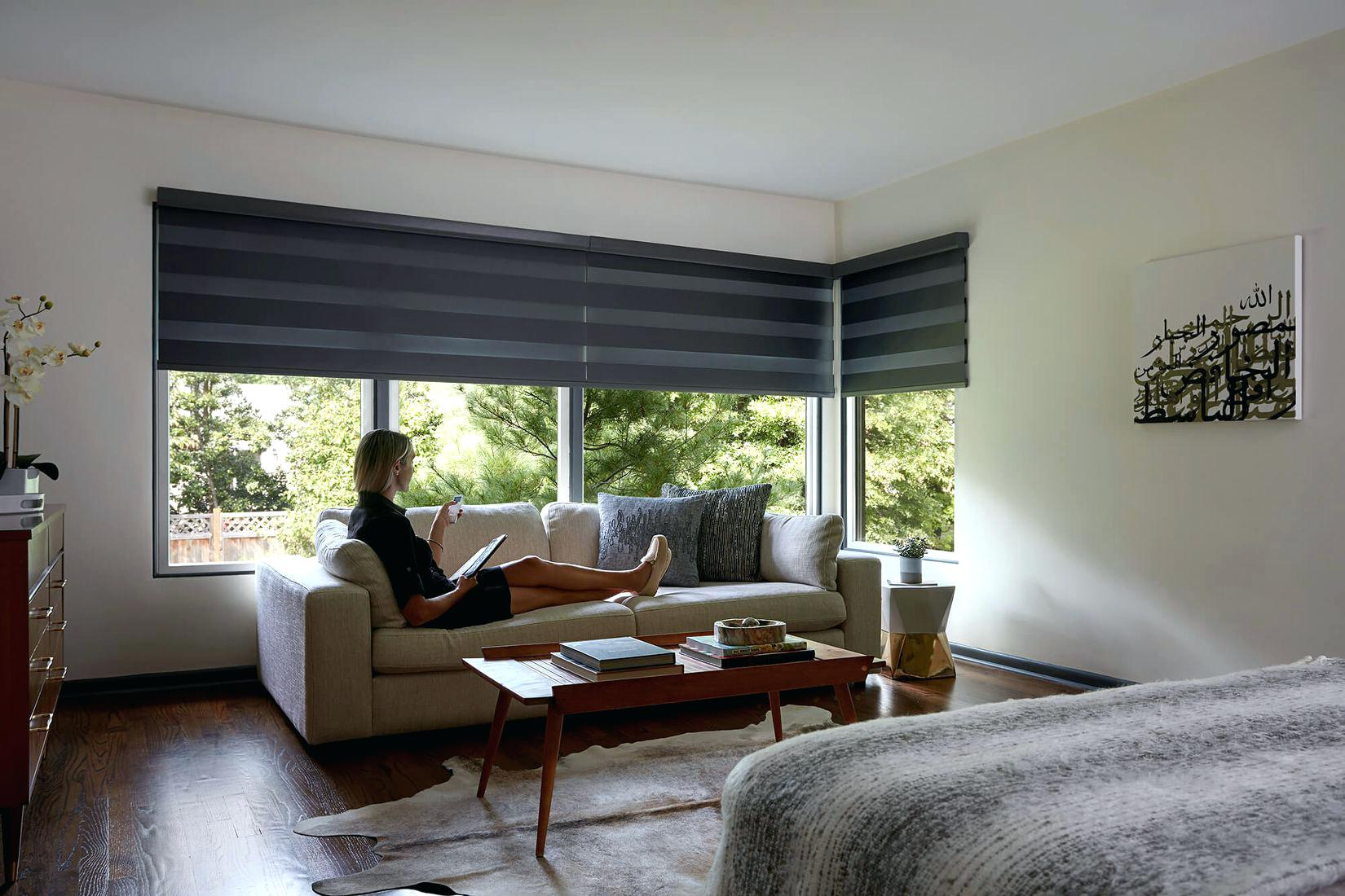 Remote control window coverings smart home automation for Motorized windows for the home