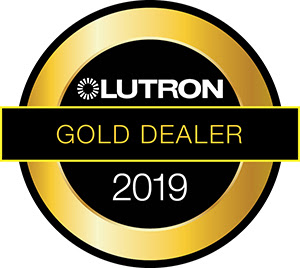 Lutron Gold Dealer specializing in motorized shades, blinds, lighting and more